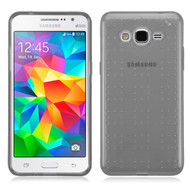 Perforated Transparent Cushion Gelli Case for Samsung Galaxy Grand Prime - Smoke