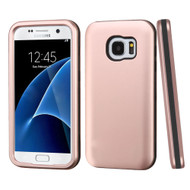 Verge Hybrid Armor Case for Samsung Galaxy S7 - Rose Gold
