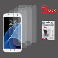 Crystal Clear Screen Protector for Samsung Galaxy S7 - Three Pack