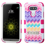 Military Grade Certified TUFF Image Hybrid Armor Case with Stand for LG G5 - Camo Wave