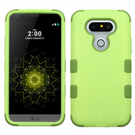 Military Grade Certified TUFF Hybrid Armor Case for LG G5 - Green Tea Olive