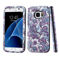 Verge Image Hybrid Armor Case for Samsung Galaxy S7 - Persian Paisley