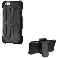 *Sale* DefyR Hybrid Case with Holster for iPhone 6 / 6S - Black