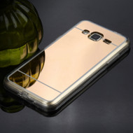 *SALE* Premium Electroplated Candy Skin Cover for Samsung Galaxy Amp Prime / Express Prime / J3 / Sol - Gold