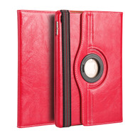 Premium 360 Degree Smart Rotating Leather Case for iPad Pro 9.7 inch - Red