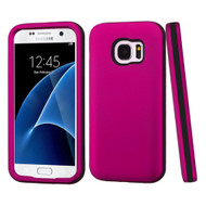 Verge Hybrid Armor Case for Samsung Galaxy S7 - Hot Pink