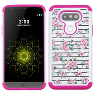 TotalDefense Diamond Hybrid Case for LG G5 - Fresh Roses