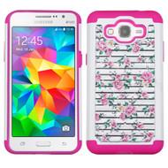 TotalDefense Diamond Hybrid Case for Samsung Galaxy Grand Prime - Fresh Roses