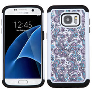 TotalDefense Diamond Hybrid Case for Samsung Galaxy S7 - Persian Paisley