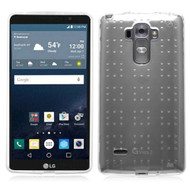 Perforated Transparent Cushion Gelli Case for LG G Stylo / Vista 2 - Clear