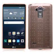Perforated Transparent Cushion Gelli Case for LG G Stylo / Vista 2 - Rose Gold