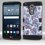 Military Grade Certified TUFF Trooper Dual Layer Hybrid Armor Case for LG G Stylo / Vista 2 - Persian Paisley