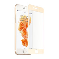 Premium Tempered Glass Screen Protector for iPhone 6 / 6S - Silk Gold
