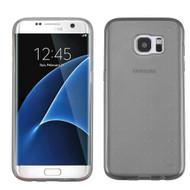 Perforated Transparent Cushion Gelli Case for Samsung Galaxy S7 Edge - Smoke