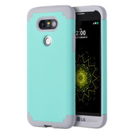 *SALE* Fusion Multi-Layer Hybrid Armor Case for LG G5 - Teal Grey