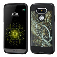 Brushed Graphic Hybrid Armor Case for LG G5 - Tree