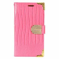 *SALE* Luxury Portfolio Leather Wallet for Samsung Galaxy S7 Edge - Crocodile Hot Pink
