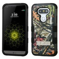 Military Grade Certified TUFF Image Hybrid Armor Case with Stand for LG G5 - Oak Leaves Camouflage