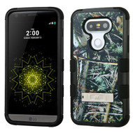 Military Grade Certified TUFF Image Hybrid Armor Case with Stand for LG G5 - Cedar Tree Camouflage