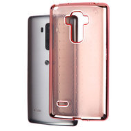 SPOTS Electroplated Premium Candy Skin Cover for LG G Stylo / Vista 2 - Rose Gold
