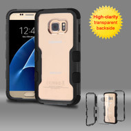*Sale* TUFF Vivid Hybrid Armor Case for Samsung Galaxy S7 - Black