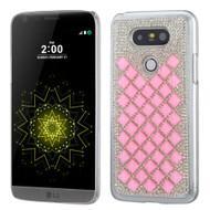 Desire Bling Bling Crystal Cover for LG G5 - Diamond Pink