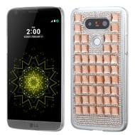 Desire Bling Bling Crystal Cover for LG G5 - Diamond Rose Gold