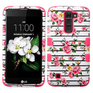 *Sale* Military Grade TUFF Image Hybrid Case for LG K7 / K8 / Escape 3 / Treasure LTE / Tribute 5 - Fresh Roses 102