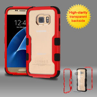 TUFF Vivid Hybrid Armor Case for Samsung Galaxy S7 - Red