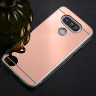 Premium Electroplated Candy Skin Cover for LG G5 - Rose Gold