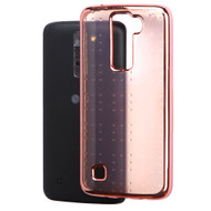 SPOTS Electroplated Premium Candy Skin Cover for LG K7 / K8 / Escape 3 / Treasure LTE / Tribute 5 - Rose Gold 005