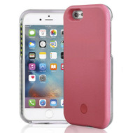 Illuminated Selfie LED Light Case for iPhone 6 / 6S - Pink