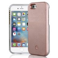 Illuminated Selfie LED Light Case for iPhone 6 / 6S - Rose Gold