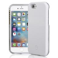 Illuminated Selfie LED Light Case for iPhone 6 / 6S - White