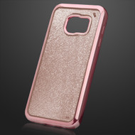 Electroplating Sparkling Frost TPU Case for Samsung Galaxy S7 - Rose Gold 804