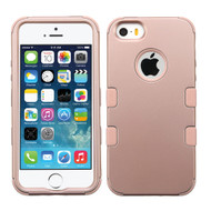 Military Grade TUFF Hybrid Case for iPhone SE / 5S / 5 - Rose Gold 086
