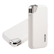 *SALE* 12000mAh High Capacity Smart Power Bank Battery Dual USB Charger - White