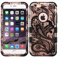 Military Grade TUFF Image Hybrid Case for iPhone 6 Plus / 6S Plus - Phoenix Flower Rose Gold
