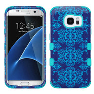 Military Grade Certified TUFF Image Hybrid Case for Samsung Galaxy S7 Edge - Damask