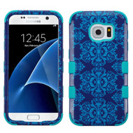 Military Grade Certified TUFF Image Hybrid Case for Samsung Galaxy S7 - Damask