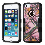 *SALE* Military Grade TUFF Image Hybrid Case for iPhone SE / 5S / 5 - Pink Oak Camouflage
