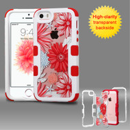*SALE* TUFF Vivid Graphic Hybrid Armor Case for iPhone SE / 5S / 5 - Spring Daisies