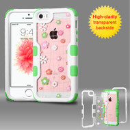 TUFF Vivid Graphic Hybrid Armor Case for iPhone SE / 5S / 5 - Tiny Blossoms