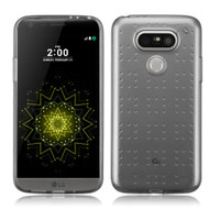 Perforated Transparent Cushion Gelli Case for LG G5 - Smoke