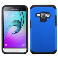 *Sale* Hybrid Multi-Layer Armor Case for Samsung Galaxy Amp 2 / Express 3 / J1 (2016) - Blue