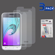 Crystal Clear Screen Protector for Samsung Galaxy Amp 2 / Express 3 / J1 (2016) - 3 Pack