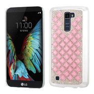 Desire Bling Bling Crystal Cover for LG K10 / Premier LTE - Diamond Pink