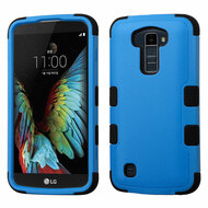 *Sale* Military Grade TUFF Hybrid Armor Case for LG K10 / Premier LTE - Blue