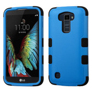 Military Grade Certified TUFF Hybrid Armor Case for LG K10 / Premier LTE - Blue