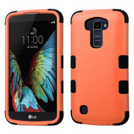 Military Grade Certified TUFF Hybrid Armor Case for LG K10 / Premier LTE - Orange